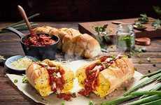 In Australia, Domino's is Serving Meat Sauce-Stuffed Garlic Bread