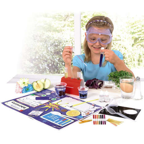 Kitchen Chemistry Sets - This Kitchen Toy Playset from John Adams Encourages Safe Discoveries