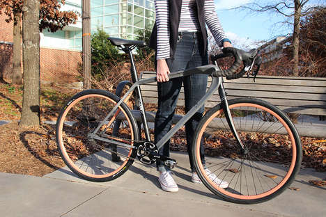 Customizable Commuter Bicycles - The 'Modefi' Bikes Can be Changed and Augmented to Suit Riders