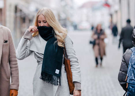 Air Filtration Accessories - Ultramare's Personal Air Purification Device Takes the Form of a Scarf