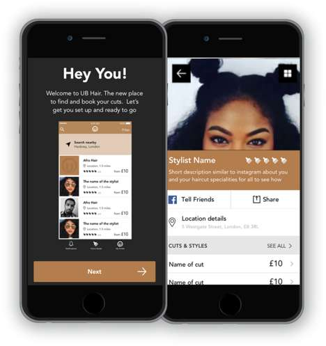 Afro-Specific Hair Apps - The UnBeweavable Hair App Finds Hairdressers for Women of Color
