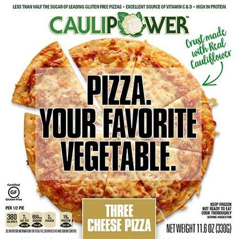 Cauliflower Crust Pizzas - CAULIPOWER Veggie Pizzas are Rich in Nutrients and are Gluten-Free