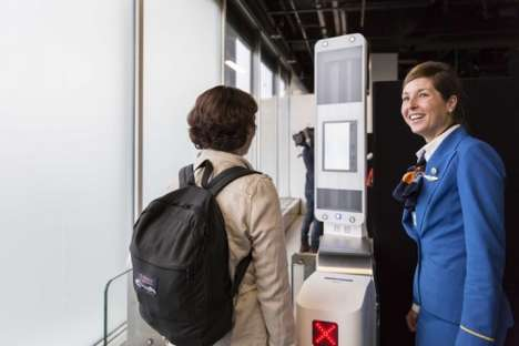Facial Recognition Airport Systems - KLM Airlines is Testing a Faster Aircraft Boarding Process