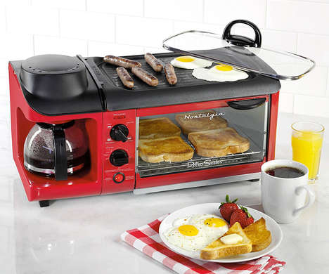 Top 35 Kitchen Ideas in March - From Cafe-Style Coffee Machines to Family-Sized Breakfast Makers