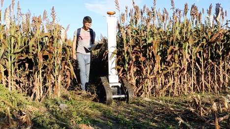 Plant-Analyzing Agricultural Robots - The Crop Phenotyping Robot Assesses Crop Health Effectively