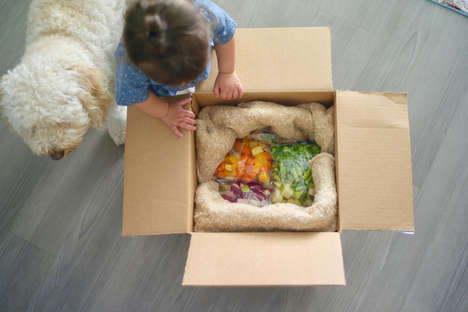 DIY Baby Food Deliveries - Thistle Baby Delivers Ingredients for New Parents to Make Baby Food