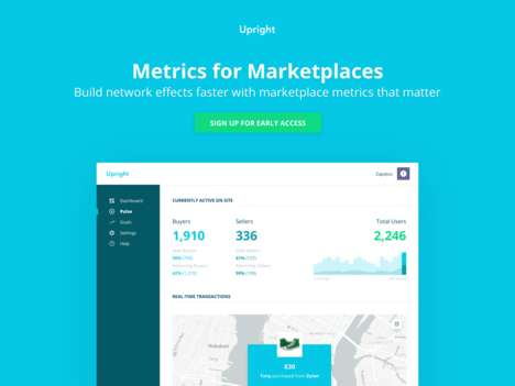 Marketplace Metrics Platforms - The 'Upright' Analytics Platform Tracks Marketplace Performance