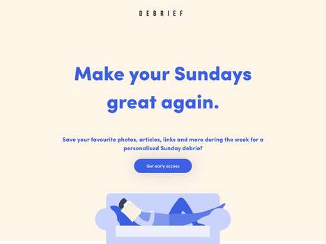 Organizational Reflection Chatbots - 'Debrief' Offers a Streamlined Solution to Reflect on Your Week