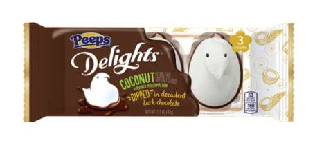 Dark Chocolate Marshmallow Desserts - The PEEPS Delights Marshmallow Chocolate Treats are Decadent