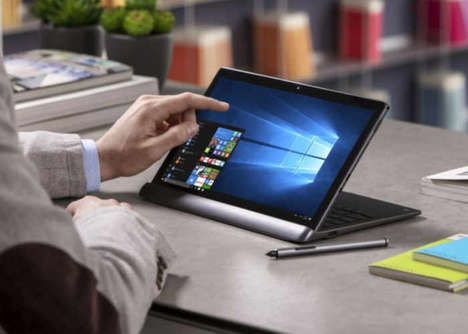 Productive 4G Tablet Laptops - The Alcatel Plus 12 4G Tablet Merges Multiple Mobile Features