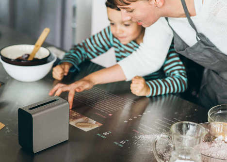 Intuitive Projection Interface Peripherals - The Sony Xperia Touch Projector is Android-Powered