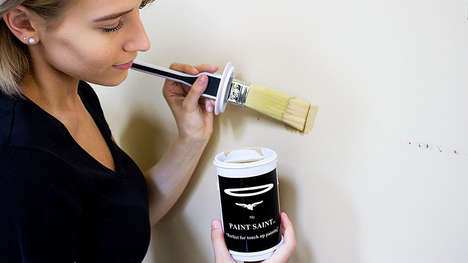 Wall Paint Touch-Up Kits - The 'My Paint Saint' Paint Touch-Up Kit Prevents Paint from Drying