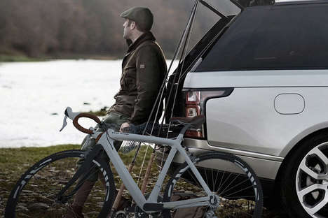 Luxury SUV Bicycles - The Land Rover Vehicle Bicycle Has the Same Chic Styling as the Car