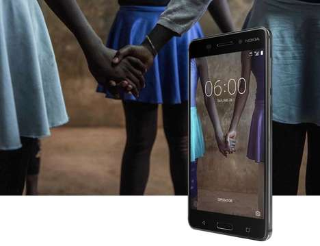 Life-Proof Smartphone Designs - The Nokia 6 is a Durable Smartphone with Impressive Specs