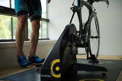 Stationary Cyclist Training Systems - The CycleOps 'Hammer Direct Drive' Cycling Trainer is Intense
