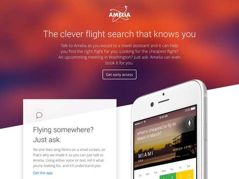 Flight-Finding Voice Assistants - The 'Amelia' AI Service Performs Flight Searches Quickly