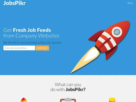 Data-Focused Job Platforms - 'JobsPikr' Offers a Job Feed for Finding a New Opportunity