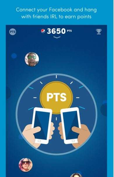 Collaborative Loyalty Apps - Pepsi Pass Lets Users Garner More Rewards Alongside Friends