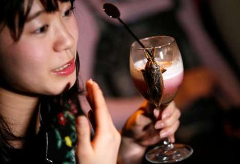 Bug Dessert Cocktail Nights - This Valentine's Day Event in Japan Featured Insect Snacks and Drinks