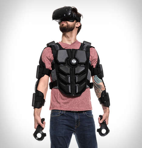 Haptic Feedback VR Suits - The 'Hardlight' VR Suit Vibrates and Responds to Gameplay