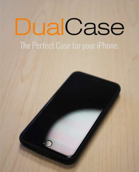 Dual-Port Wireless Charging Cases - The Sparen 'DualCase' Charge Cases Pack a Bevy of Features