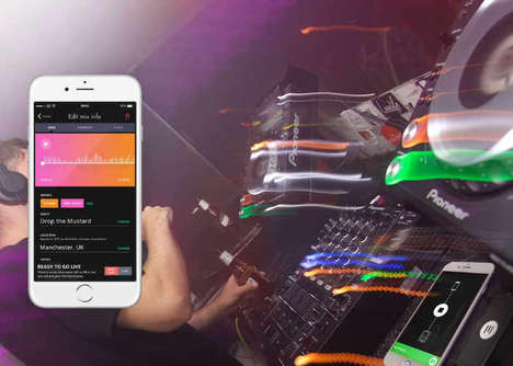 DJ Set Smartphone Recorders - The Evermix 'MixBox2' Can Record DJ Sets in High-Quality