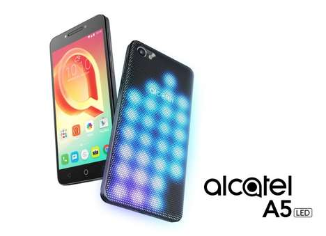 Modular Attachment Smartphones - The Alcatel A5 4G LTE Smartphone Has Interchangeable Components