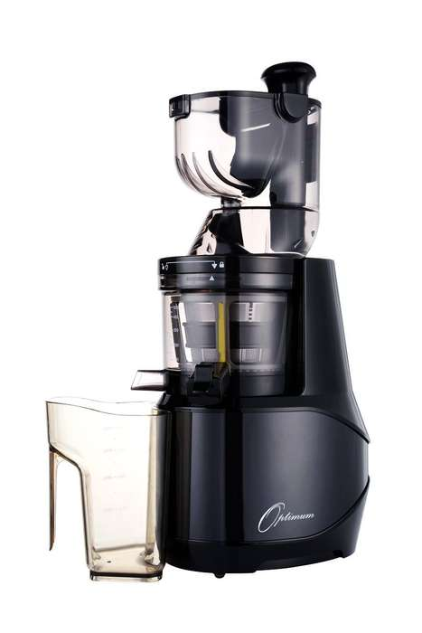 Low-Speed Kitchen Juicers - The Froothie Optimum 700 Advanced Cold Press Juicer is Precise