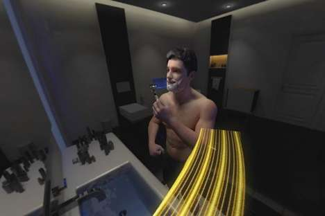 VR Shaving Simulators - Gillette's In-Store Experience Takes People on a VR Roller Coaster Ride