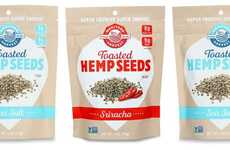 Crunchy Hemp Seed Snacks