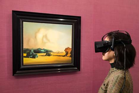 Surrealist VR Exhibitions - Sotheby's is Using a Virtual Reality Art Experience to Drive Sales