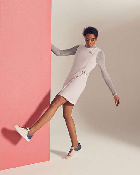 Effortlessly Sophisticated Womenswear - Ted Baker's Colour by Numbers Edit is Wonderfully Playful