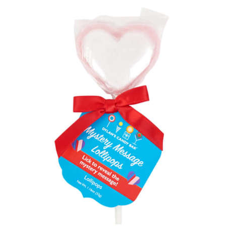 Hidden Message Lollipops - These Valentine's Day Lollipops from Dylan's Candy Bar Reveal Sweet Notes