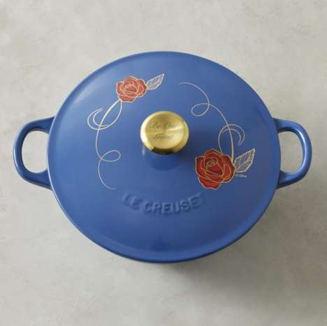 Enchanting Cookware Pots - Le Creuset's Soup Pot Features Special Details for Disney Fans