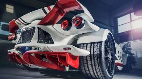 Bespoke Sports Cars - AD Tramontana's Custom Sports Car Can Be Made with 3D-Printed Parts