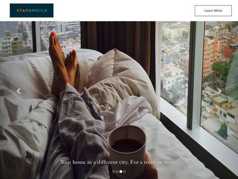 Nomadic Lifestyle Hotel Subscriptions - 'StayAwhile' Lets You Live in Hotels for a Monthly Fee
