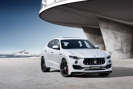 Aggressively Upgraded SUVs - The Startech Maserati Levante is a New Luxury SUV with Several Upgrades