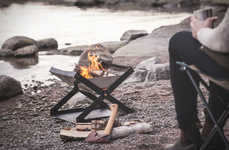 Foldable Camping Fire Pits