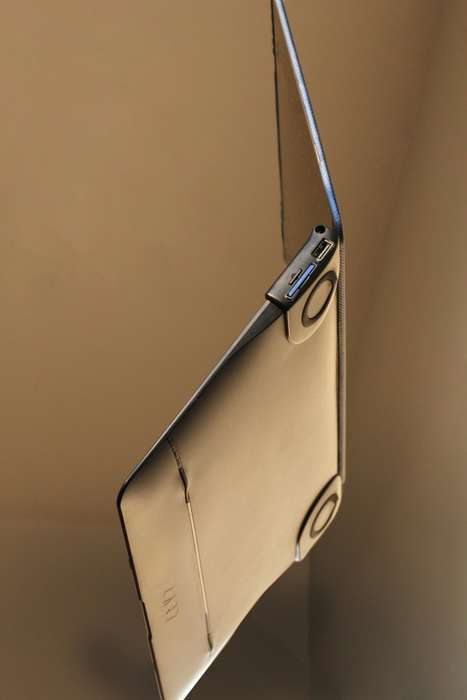 Port-Enhanced Laptop Cases - The 'BOOST' MacBook Case Protects and Enhances the Laptop