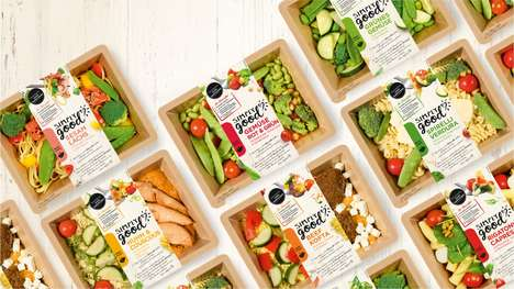 Top 100 Food Product Ideas in March - From Digestion-Aiding Snack Bars to Grab-and-Go Meat Trays