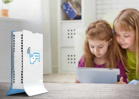 Content-Filtering Family Routers - The 'Routerhino' Smart Router Ensures Content is Kept Clean