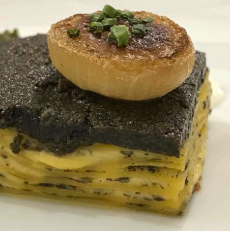 Black Truffle Lasagnas - Bouchon Bistro's Lasagna Meal Puts an Upscale Twist on the Pasta Dish