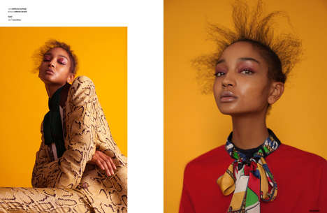 Youthfully Eclectic Editorials - The Ones 2 Watch 'Everybody Loves The Sunshine' Series is Vibrant