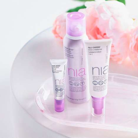 Millennial Anti-Aging Cosmetics - 'Nia' is a New Skincare Line to Keep Youth Looking Youthful