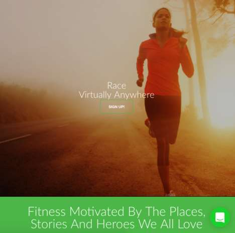 Virtual Running Challenges - Yes.Fit Helps People Race Around the World Via Google Street View
