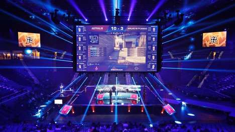 eSports Gaming Stadiums - The MGM Grand Garden Arena is a Large-Scale eSports Venue