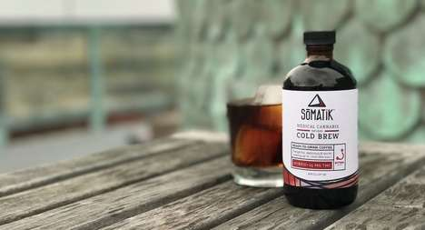 Cannabis-Infused Cold Brews - Ritual Coffee and Somatik are Now Making Cannabis-Infused Coffee