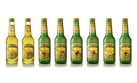 Non-Alcoholic Malt Beverages - Hillsburg's Alcohol-Free Drink Range Emphasizes Vibrant Fruit Flavors