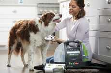 Dog-Washing Vacuum Cleaners