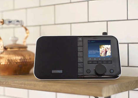 Versatile Internet Radio Speakers - The 'Mondo+' is Equipped with Google Chromecast and Much More